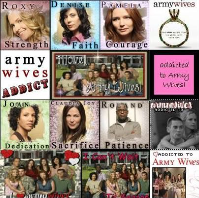 """Nice """"Army Wives"""" collage"""