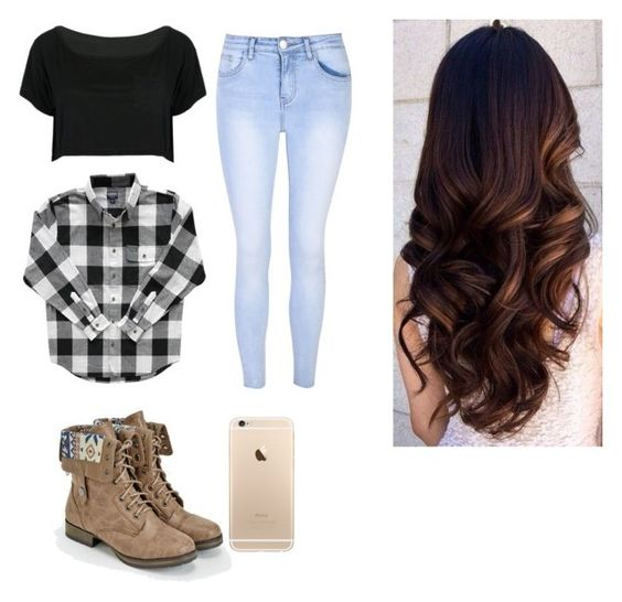 """Luke Bryan concert❤️"" by emilybriann4 ❤ liked on Polyvore featuring JustFab, WithChic and Glamorous"