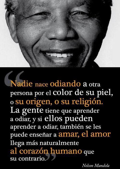 70 Frases De Nelson Mandela Sobre La Vida La Paz Y La Igualdad Nelson Mandela Mandela Words Of Encouragement