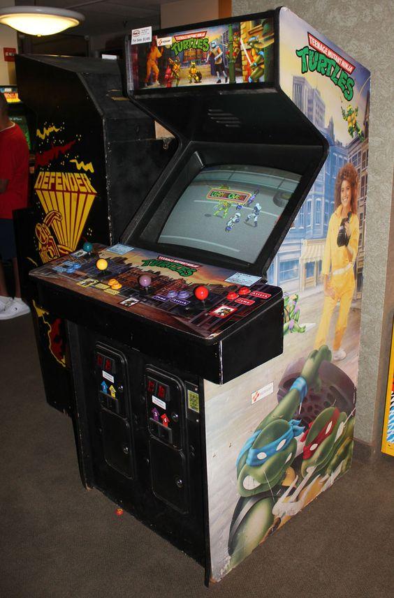 Teenage Mutant Ninja Turtles Arcade Game....O youthful days of gaming glory...
