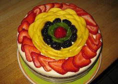 fresh cream cakes with fruit on top Google Search Ya pastalar