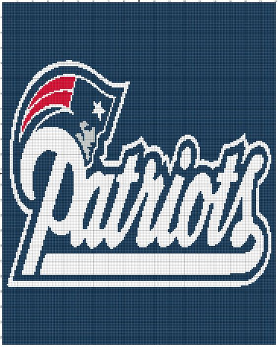 New England Patriots Crochet Afghan Pattern Free : Pinterest The world s catalog of ideas