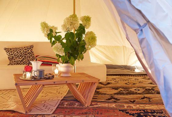 A Chic Take on Backyard Camping -- One Kings Lane