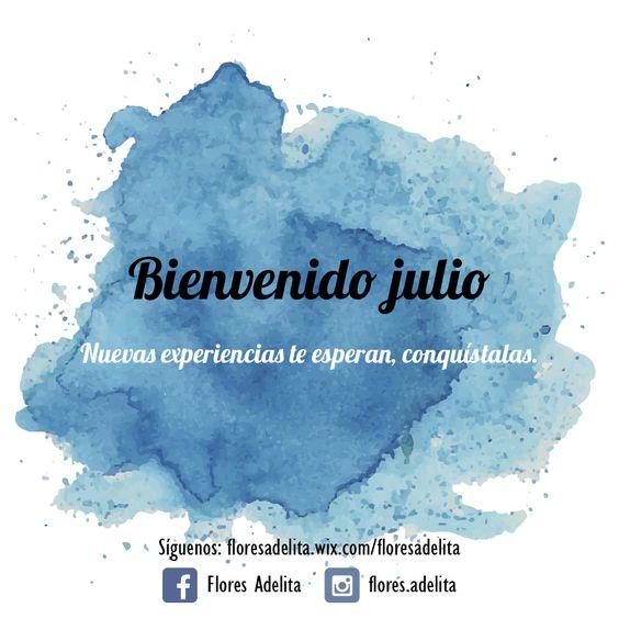 #BienvenidoJulio no esperes a que los momentos lleguen, empieza a buscar nuevas experiencias que te alegren la vida. #BuenViernes #Bogotá