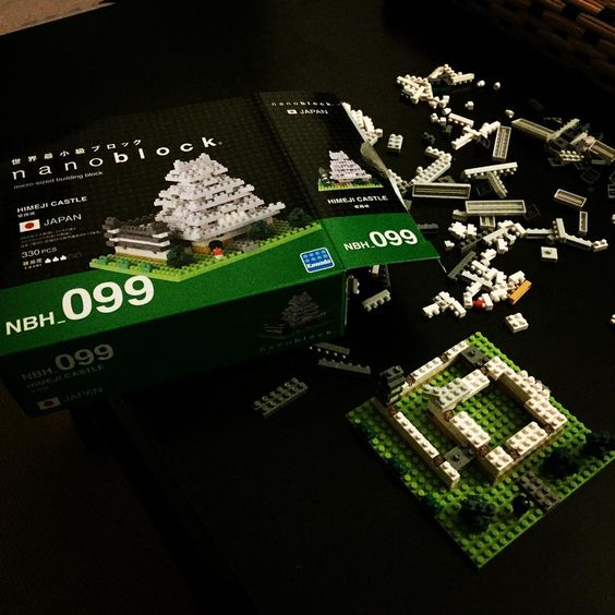 «Building up that temple !! #nanoblock #lego #nano #kidstuff #whatevermakesyouhappy»