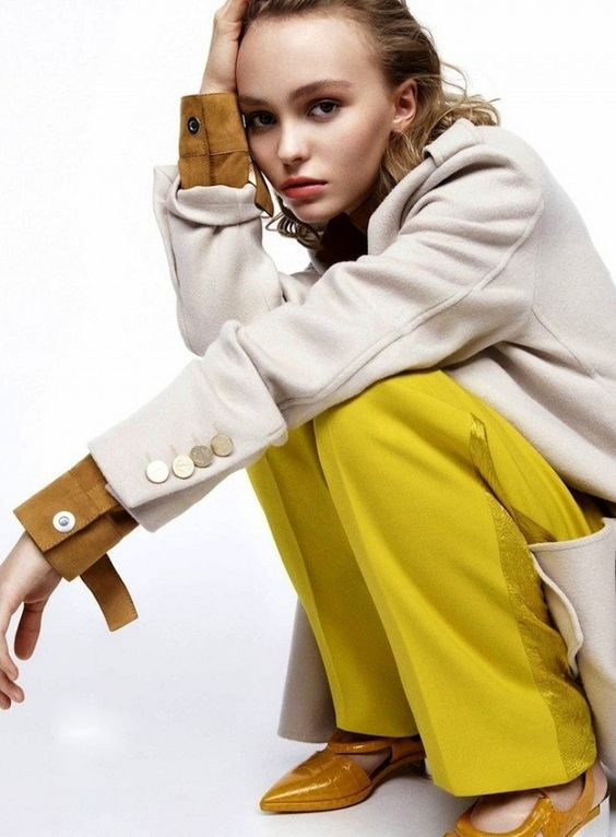 Lily-Rose Depp for Vanity Fair France
