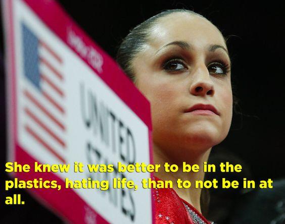 "The U.S. Women's Gymnastics Team As ""Mean Girls"""