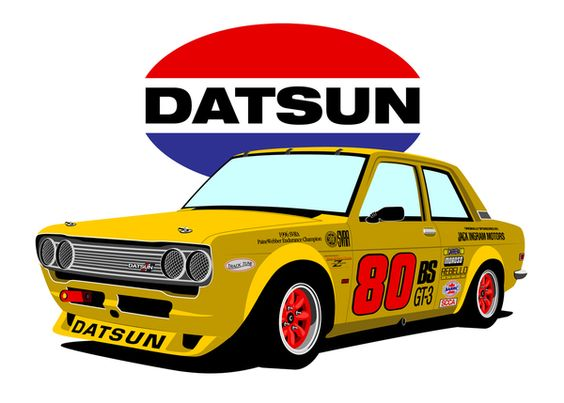 Datsun Race Car ????? Pinterest Cars Yellow And I