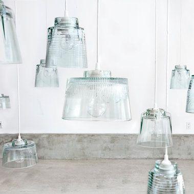 glass kitchen lights
