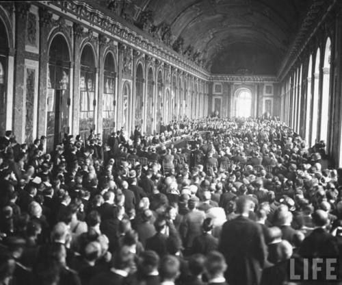 account of the treaty of versailles Exactly five years after the assassination of archduke franz ferdinand—the  event that tipped europe into world war—the treaty of versailles was signed in.