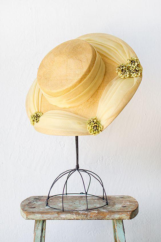 vintage 1950s hat | Hillside Frolic Hat