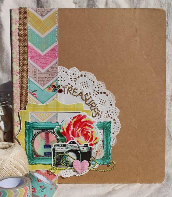 Creatively Savvy: My Treasures Album *DCWV Vintage Collector - Susan Stringfellow