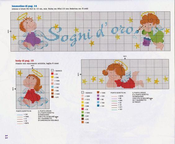 Schemi Elettrici Per Bambini : Punto croce schemi e ricami gratuiti tanti