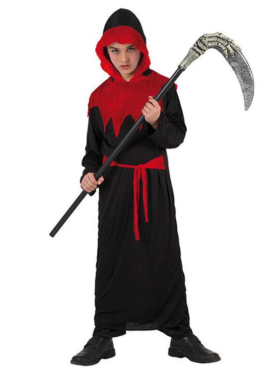 Teuflischer Sensenmann Halloween-Kinderkostüm schwarz-rot. Aus der Kategorie Halloween Kostüme / Halloween Kostüme Kinder. Dieser kleine Teufel führt sicherlich nichts Gutes im Schilde.. Aber wer wäre schon so verrückt, sich diesem satanischen Sensenmann entgegenzustellen? Der Sieg beim Kostüm-Wettbewerb der nächsten Kinder-Halloweenparty ist ihm ohnehin sicher!