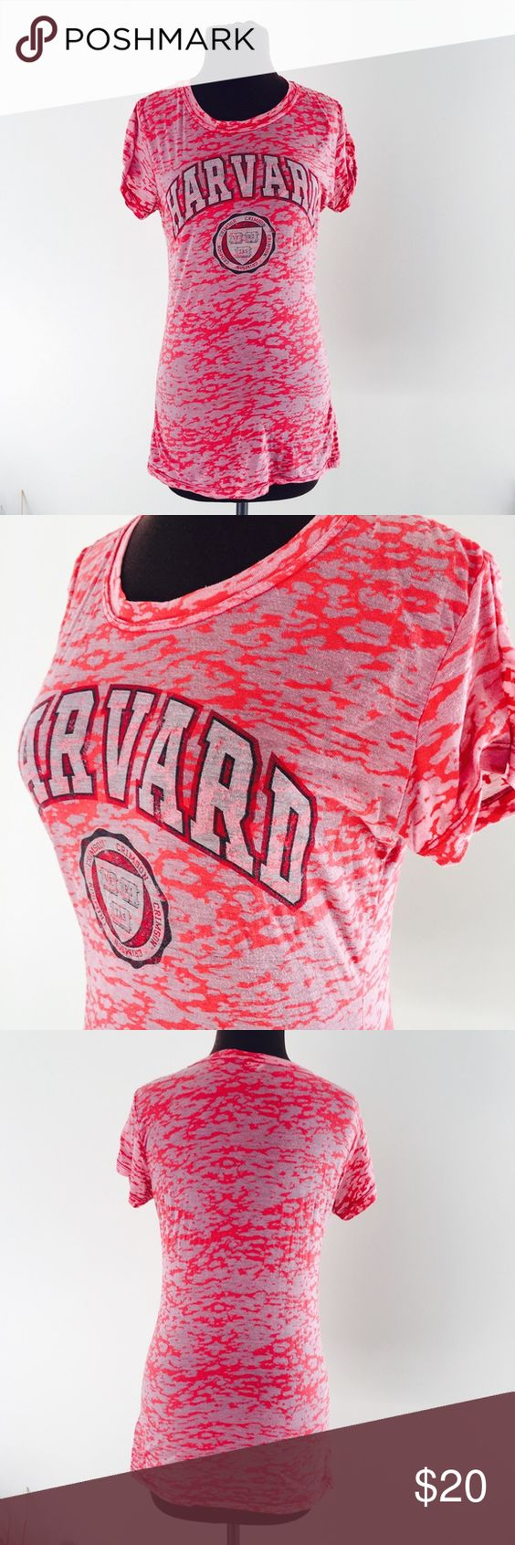 ❗️Harvard Camouflage Tee! ❗️Harvard camouflage tee! Fits like a small. Good condition. I'm having a huge End of the Year Sale! Enjoy discounts off bundles or feel free to make an offer! Selling each item to the first reasonable offer I receive ;-) Asap shipping! Harvard Tops