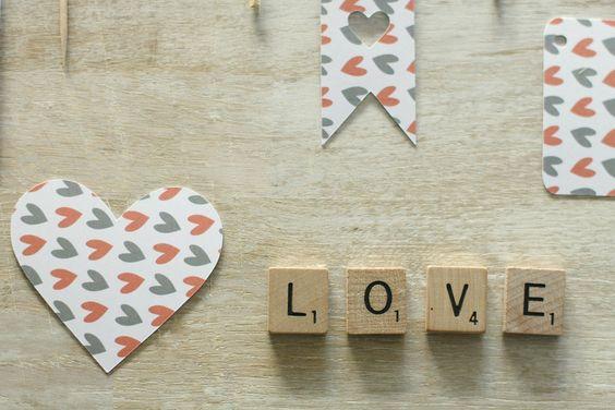 Papier pour Valentin ou Valentine {Printable} - Avec ses 10 p'tits doigts... Soyez DIY !