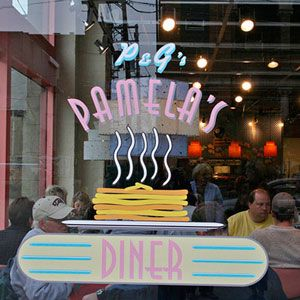 Pennsylvania When then Senator Barack Obama made a campaign stop in Pittsburgh in 2008, he headed to Pamela's Diner in the Strip District for some of their famous hotcakes. . .