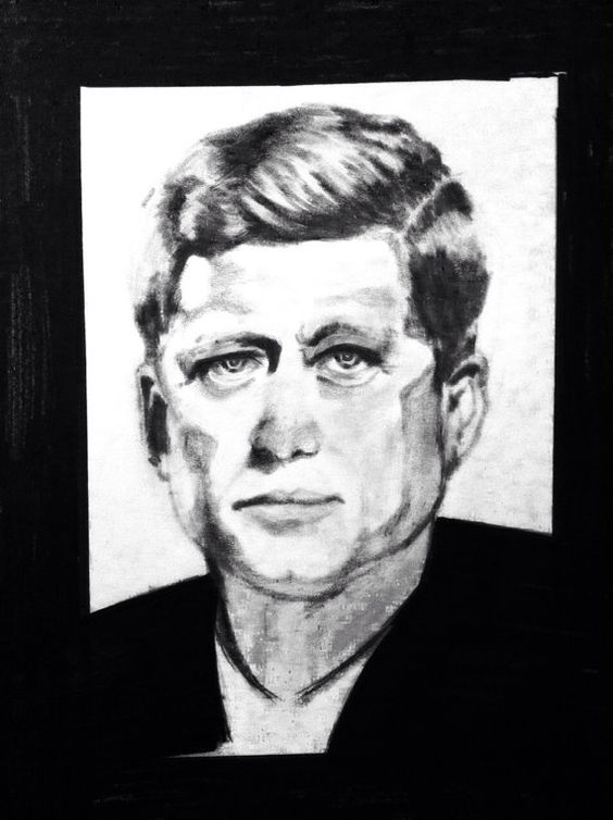 JFK art print by DMstudios32 on Etsy, $15.00