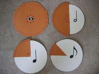 Zlomky a noty v jednom #math #music