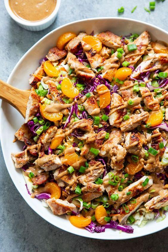 Paleo Chinese Chicken Salad (Whole30)