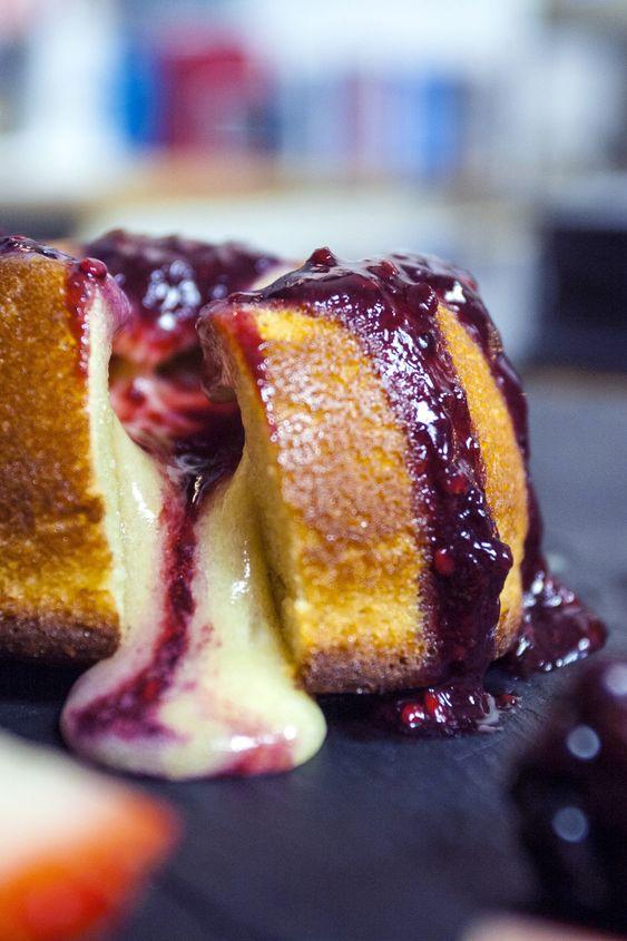 White Chocolate Lava Cake Sorted