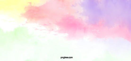 ألوان مائية خلفية الوردي ألوان الملمس Watercolor Background Watercolour Texture Background Pink Watercolor