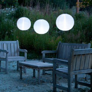 solar lanterns - how cool is that!