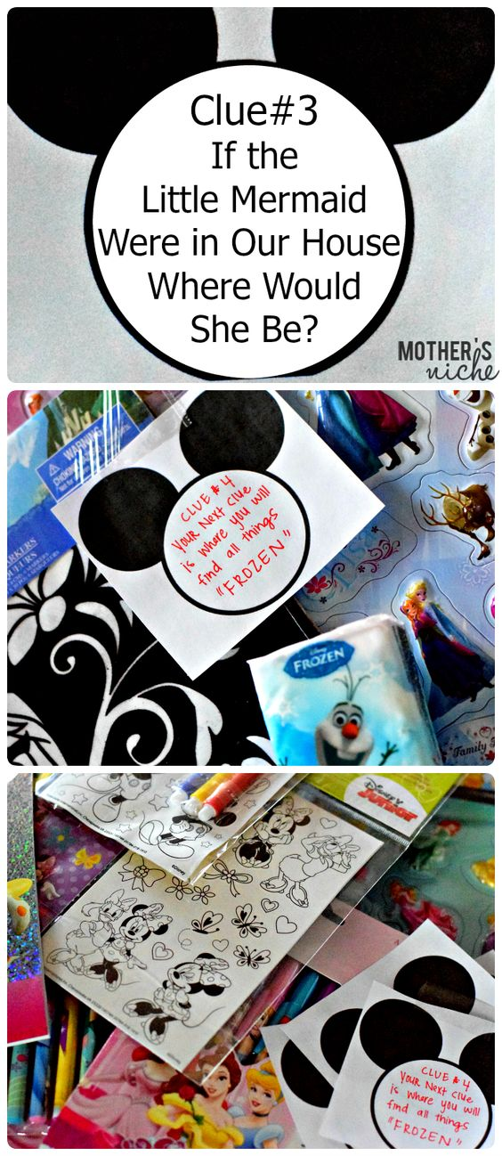 Disney Scavenger Hunt - Free Printable! Great way to surprise the kids with a trip to Disney, or just have fun on a rainy day!