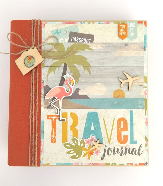 Artsy Albums Mini Album and Page Layout Kits and Custom Designed Scrapbooks by Traci Penrod: Travel Scrapbook with Simple Stories You Are Here