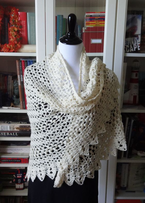 Seems Like Old Times Shawl By Michele DuNaier - Free ...