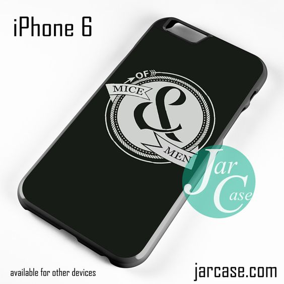 Of Mice & Men Logo 1 Phone case for iPhone 6 and other iPhone devices