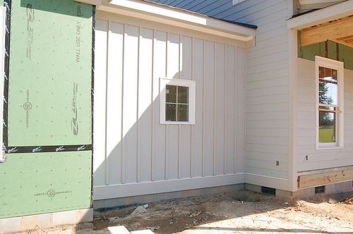 How To Set Up Board And Batten Or Exterior Siding Cuethat Exterior House Siding Siding Cost Wood Siding Exterior