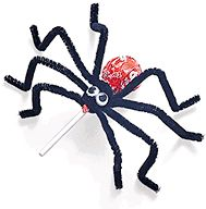 Spider lollipop from Room Mom 101