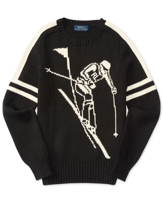 Ralph Lauren Graphic-Knit Sweater, Big Boys (8-20)