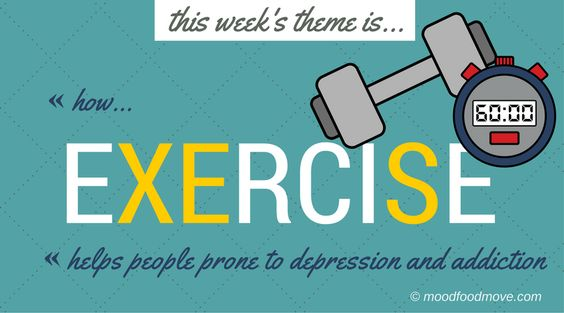 This week's moodfoodmove theme is how Exercise helps people prone to mental health issues. I've gathered inspiring testimonials on on the impact exercise has for helping folk get - and stay - clean, sober, sane. Exercise gives you so much, but perhaps most of all it helps you redefine yourself as something other than an addict, alcoholic, depressive. You are now a runner, a swimmer, a climber, a cyclist, a triathlete.