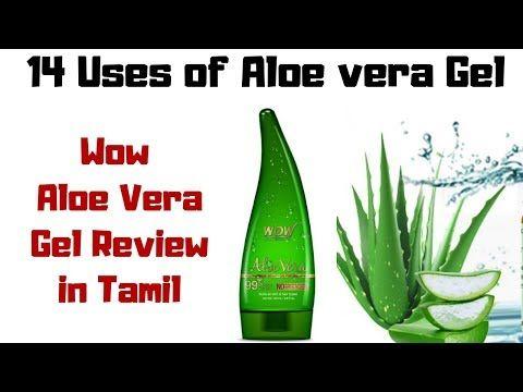 14 Uses Of Aloe Vera Gel Wow Aloe Vera Gel Review In Tamil Skin Care Hair Care Aloe Vera Youtube Aloe Vera Skin Care Hair Care Hair Growth Tips In Tamil