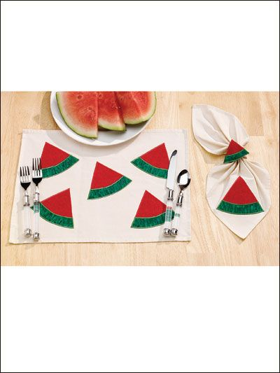 For the Home - Kitchen - Watermelon Place Set