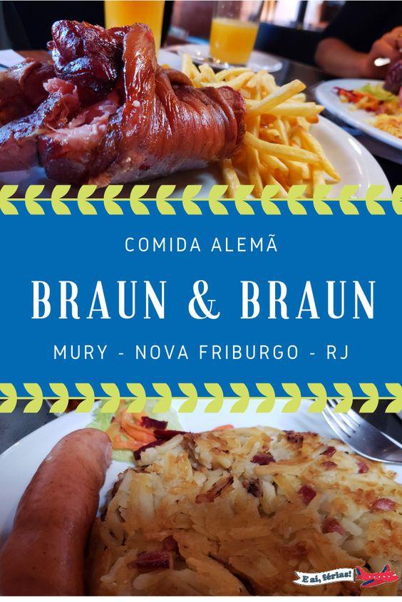 Braun & Braun - Restaurante Alemão em Nova Friburgo