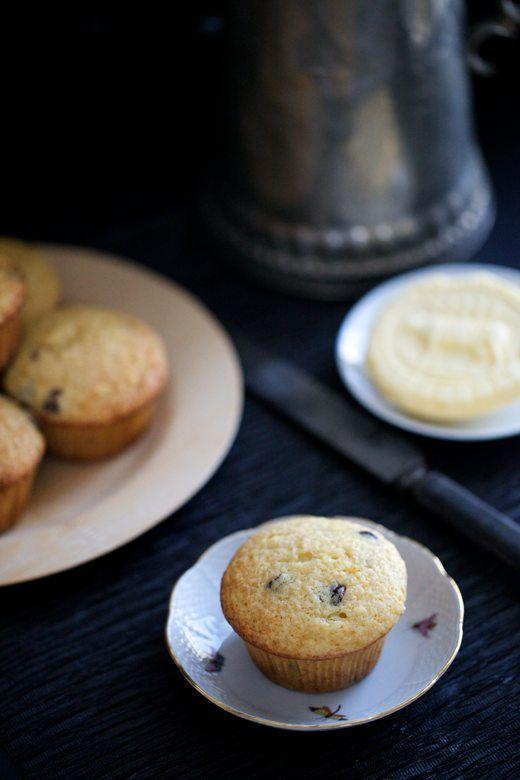 orange chocolate muffins - A Little Zaftig