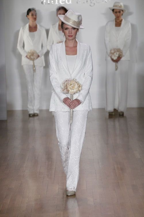 Alfred Angelo, Spring 2014 Collection Lace Suit - Carrie Bradshaw ...