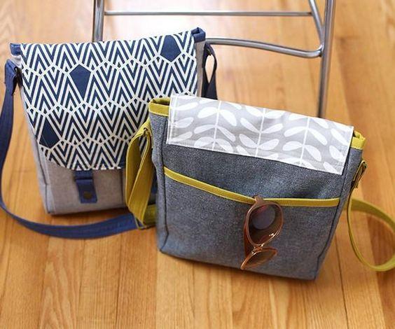 Campfire Messenger Bag Sewing Pattern | Noodlehead