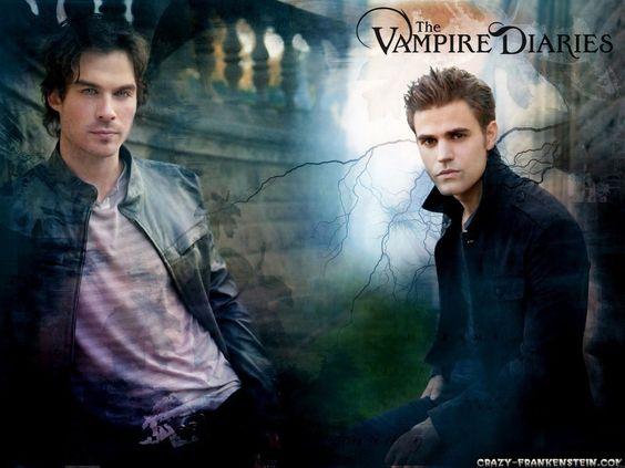 Damon & Stefan Salvatore