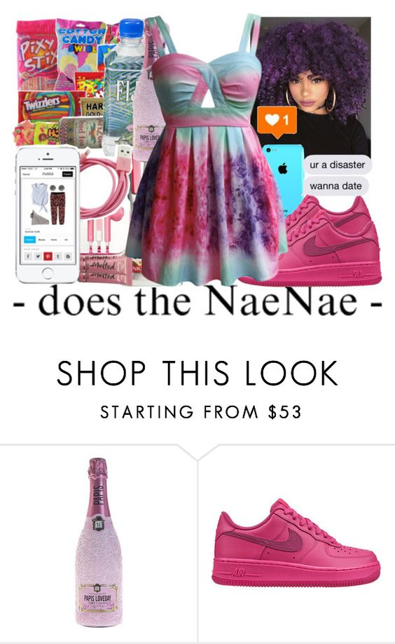 """""""In maii 1st class"""" by jjaylaspin ❤ liked on Polyvore featuring NIKE"""