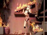 RS Star Wars 04 - Gary The Stormtrooper - Beru, Owen Burning down