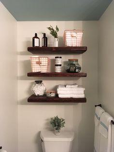 Bathroom Shelves Ideas Pinterest Wohnung Dekoration Kleine