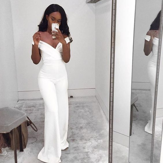 Shopping for White Jumpsuits at discount prices online, find all white jumpsuits on sale everyday at AMIClubwear and get free shipping on orders over $ Looking for cheap white jumpsuits? Look no further AMI has cheap white jumpsuits for Women that are high quality and will last for years.