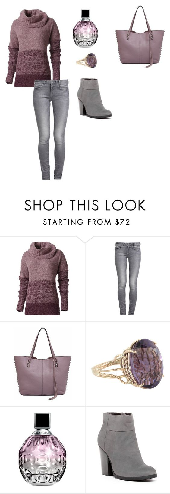 """""""Foreigner: Say You Will..."""" by lalynany ❤ liked on Polyvore featuring Royal Robbins, GUESS, Rebecca Minkoff, Vintage, Jimmy Choo and Kenneth Cole Reaction"""