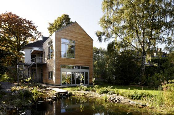 Hauswerweiterung von Baufritz aus Holz