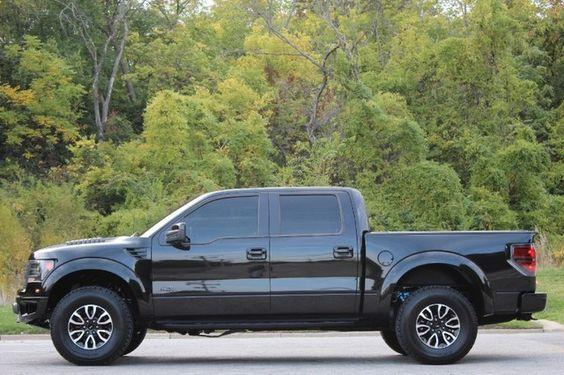 black shiny glossy ford   truck side view ford  trucks pinterest trucks ford