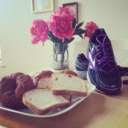 pre-/post-race snacks for someone following a gluten-free diet
